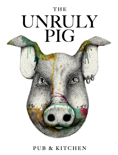 the unruly pig homepage logo